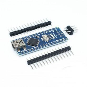 Arduino Nano V3 на CH340G (гребенка не припаяна) USB Mini