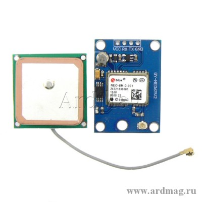 GPS модуль GY-NEO-6MV2