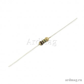 Резистор 1 МОм 0.25 Вт 5%