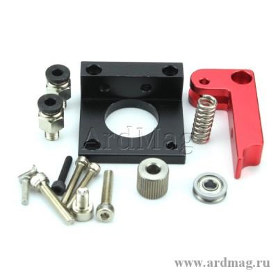 Механизм для удаленной подачи пластика в экструдере MK8 (правый)