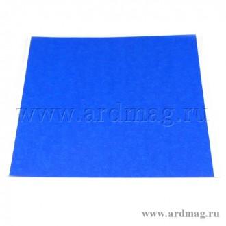 Наклейка для стола 214*214мм, синий