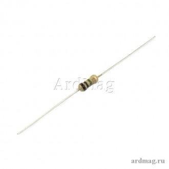 Резистор 510 Ом 0.25 Вт 5%, 10 шт.