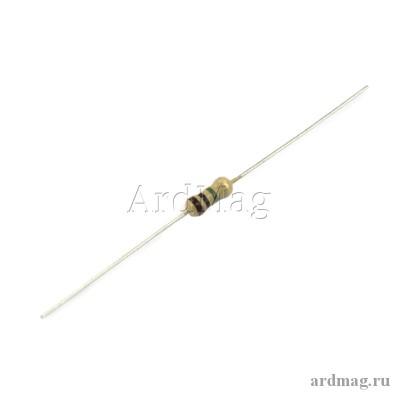 Резистор 10 Ом 0.25 Вт 5%