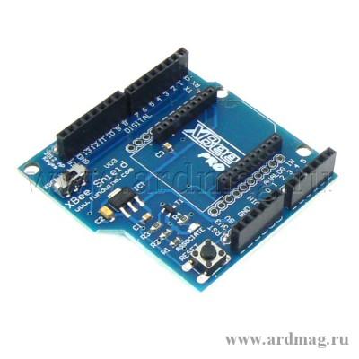 Arduino UNO Xbee Shield