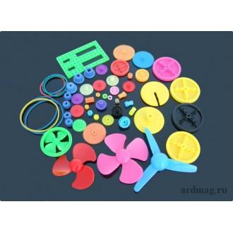 Набор шестеренок 55 элементов