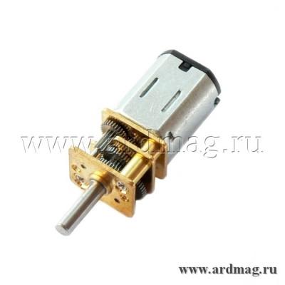 Мотор N20 12 В, 200 об/мин