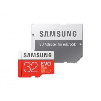 32GB Карта памяти Samsung MicroSD Class10 UHS-I + SD адаптер