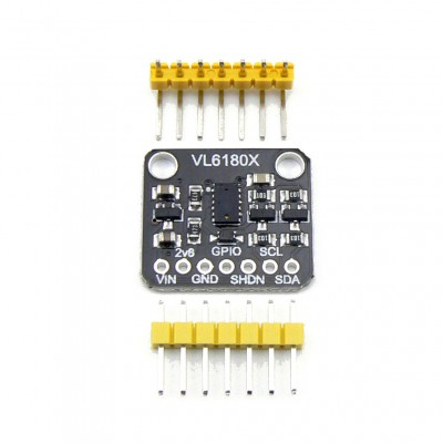 Датчик расстояния, освещенности и жестов VL6180X