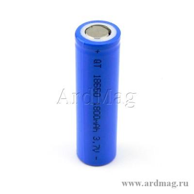 Аккумулятор 18650 Орбита 1800мА (1000мА)