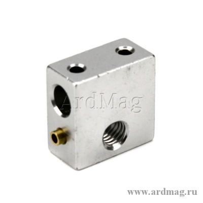 Нагревательный блок MK8 (медная гильза под термистор)