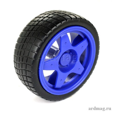Колесо 65 мм D3A, синий