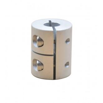 Компенсирующая алюминиевая соединительная муфта D20L25 5*8мм.