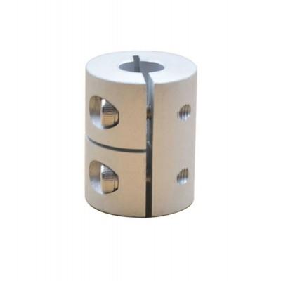Компенсирующая алюминиевая соединительная муфта D20L25 8*8мм.