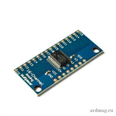 Коммутатор аналоговый CD74HC4067