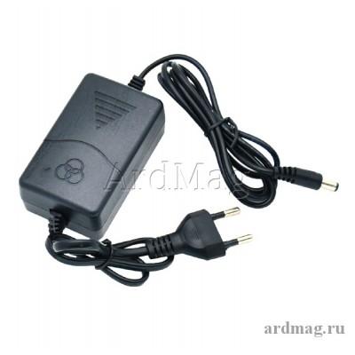 Блок питания 12В 2А OT-APB84 с кабелем, разъем DC5.5*2.5мм.