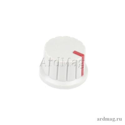 Ручка для потенциометра CZ3-A102 серый/красный