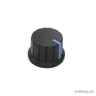 Ручка для потенциометра CZ3-A102 черный/синий