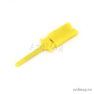 Зажим (щуп) желтый