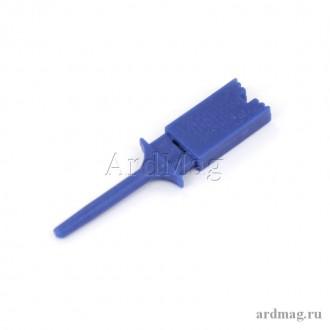 Зажим (щуп) синий