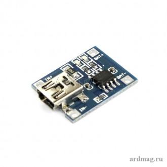 Зарядное устройство TP4056 MiniUSB