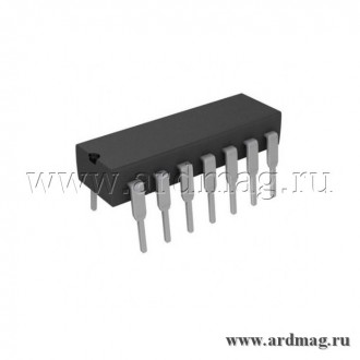 Триггер CD4013BE DIP14