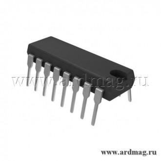 Процессор обработки аудиосигнала PT2399 DIP16