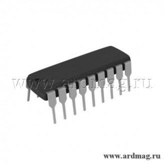 Транзисторная сборка Дарлингтона ULN2803APG в корпусе DIP18