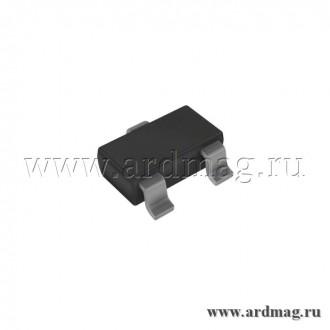 Транзистор 2N3904 SOT-23 NPN 60В/0.2А